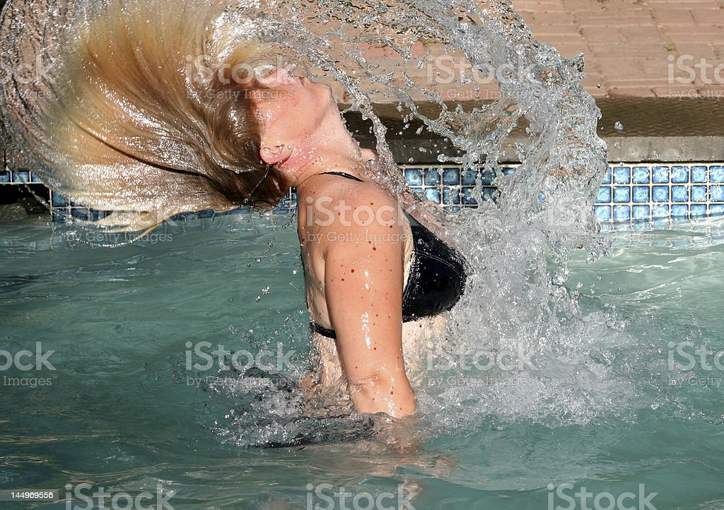 Splish Splash royalty-free stock photo