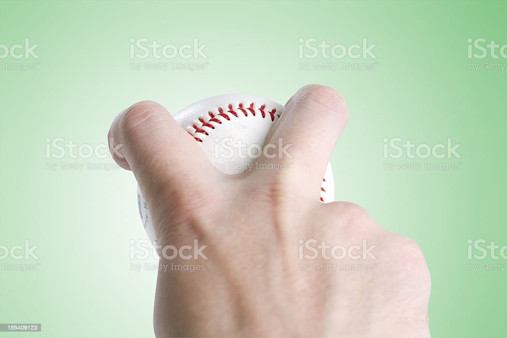 Split Finger Grip - Clipping Path royalty-free stock photo