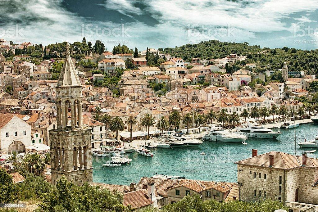 Split in Croatia (HDR) stock photo