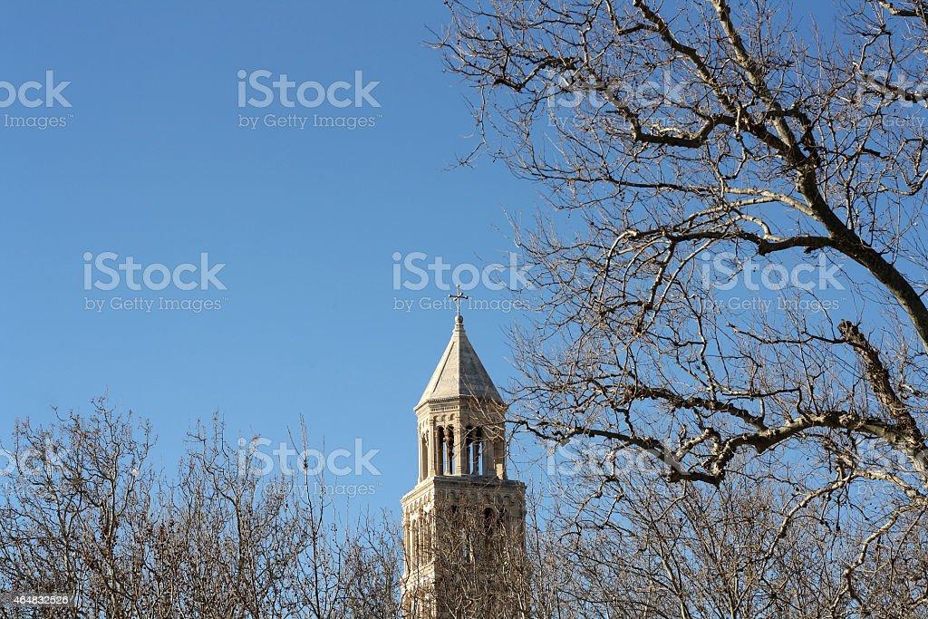 Split landmark stock photo