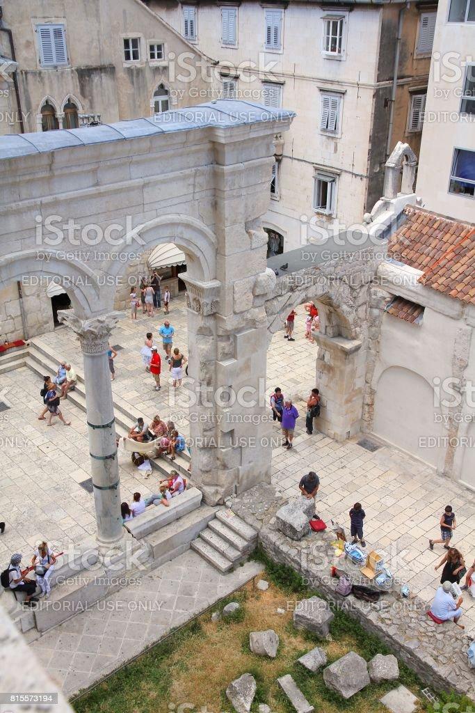 Split Old Town stock photo