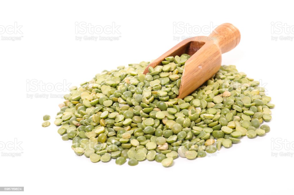 split pea stock photo