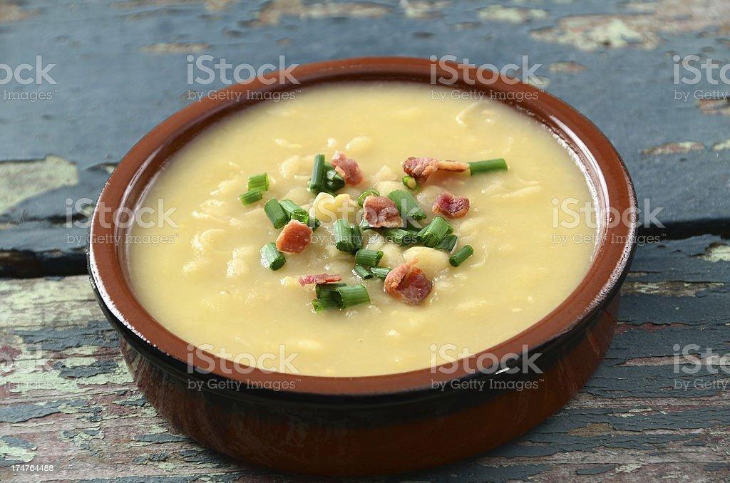 Split Pea Soup royalty-free stock photo