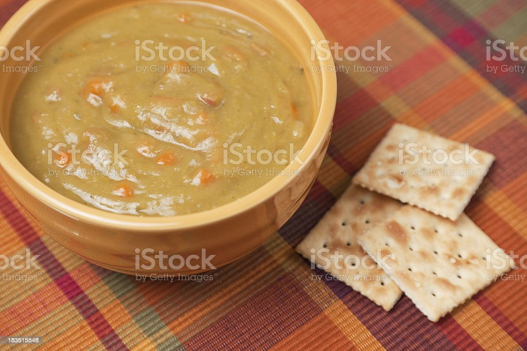Split Pea Soup stock photo