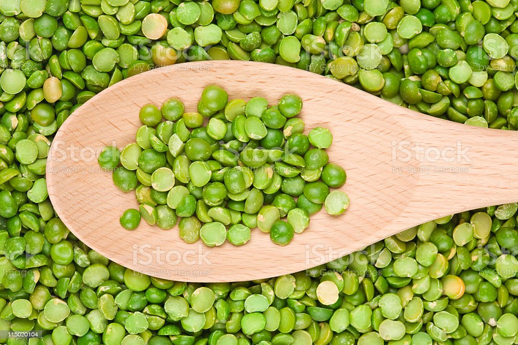 Split Peas stock photo