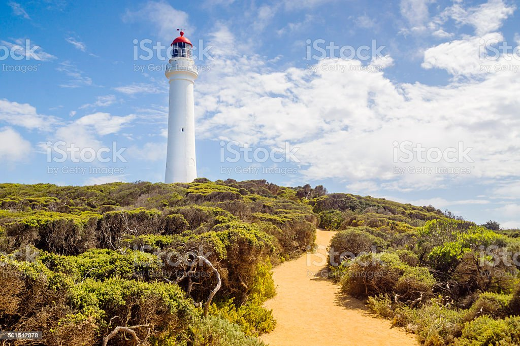 Split Point Lighthouse, Aireys Inlet stock photo