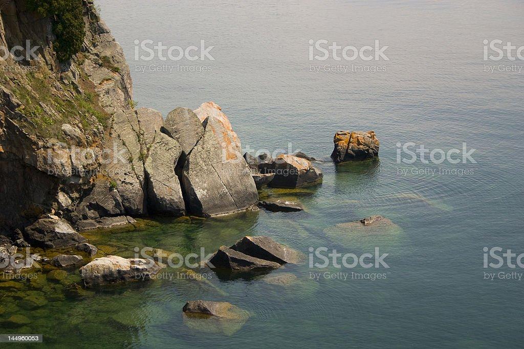 Split Rock stock photo