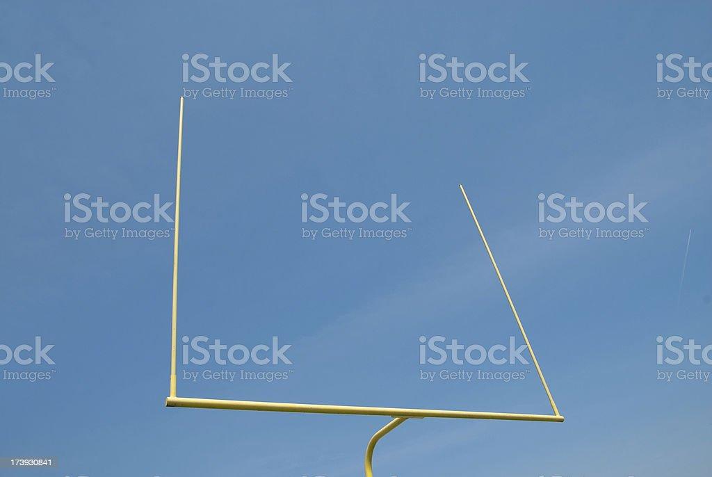 Split The Uprights stock photo