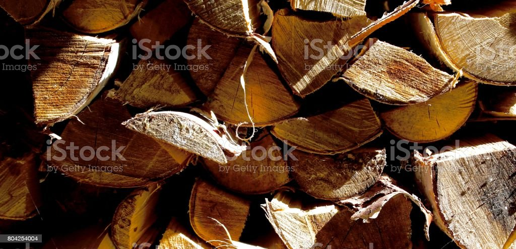 Split Wood stock photo
