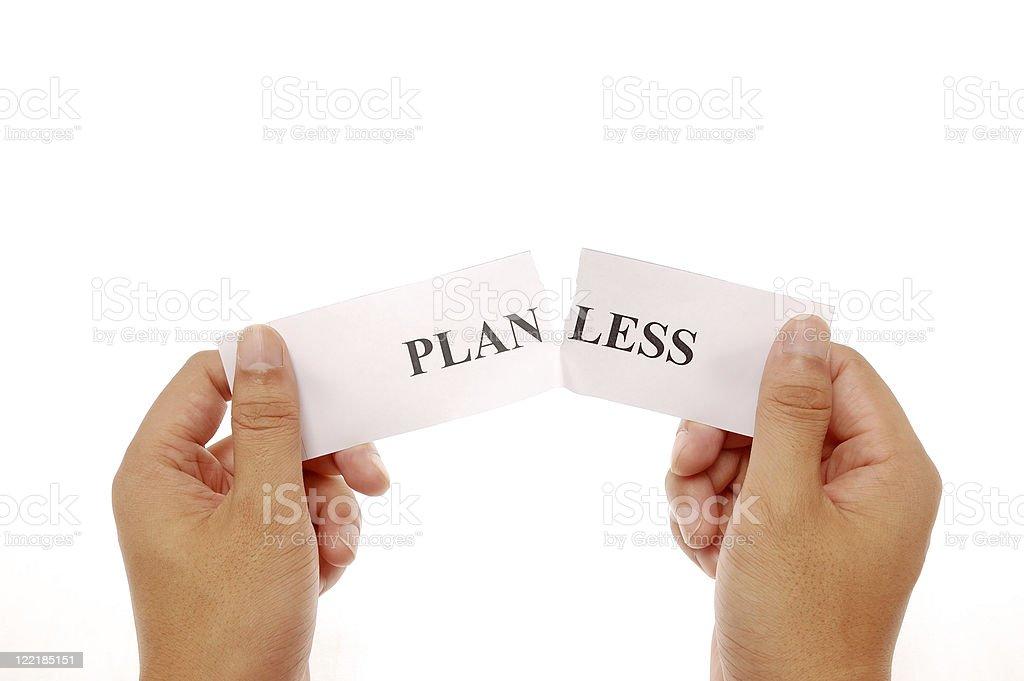 split word planless stock photo