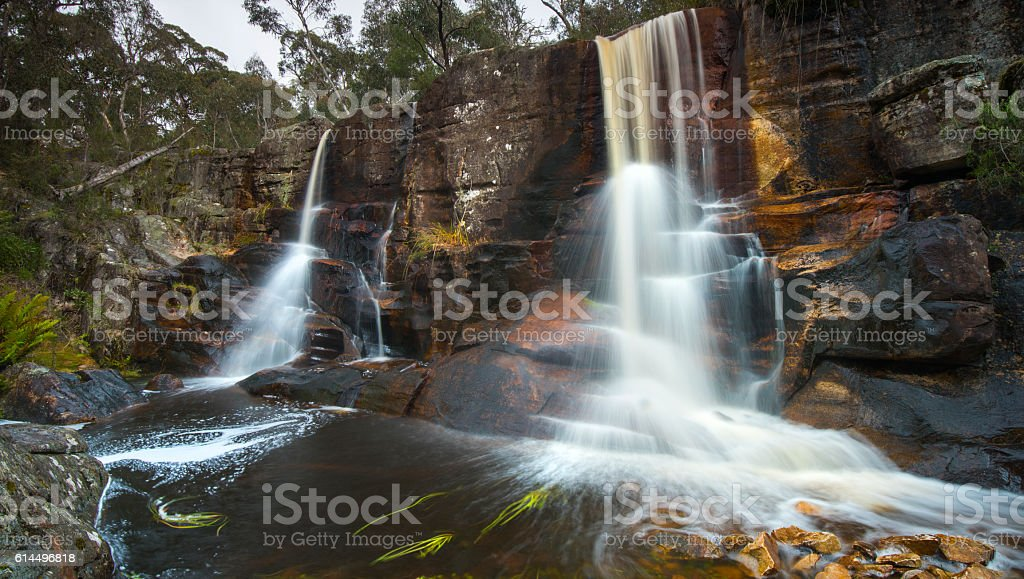 Splitter Falls stock photo