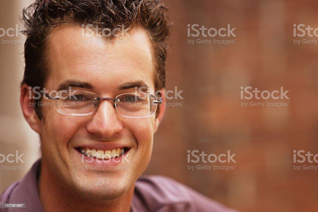 Spokes Person stock photo
