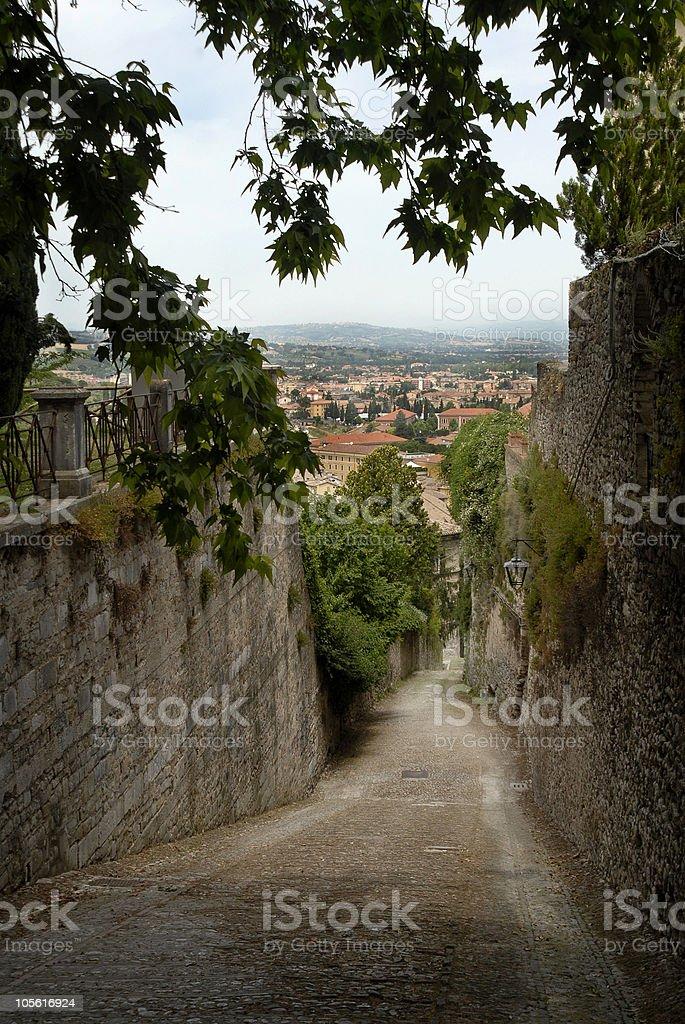 Spoleto, Italia foto de stock libre de derechos
