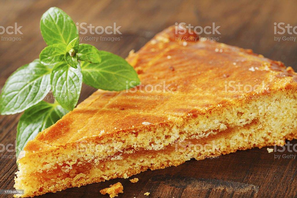 sponge apple cake royalty-free stock photo