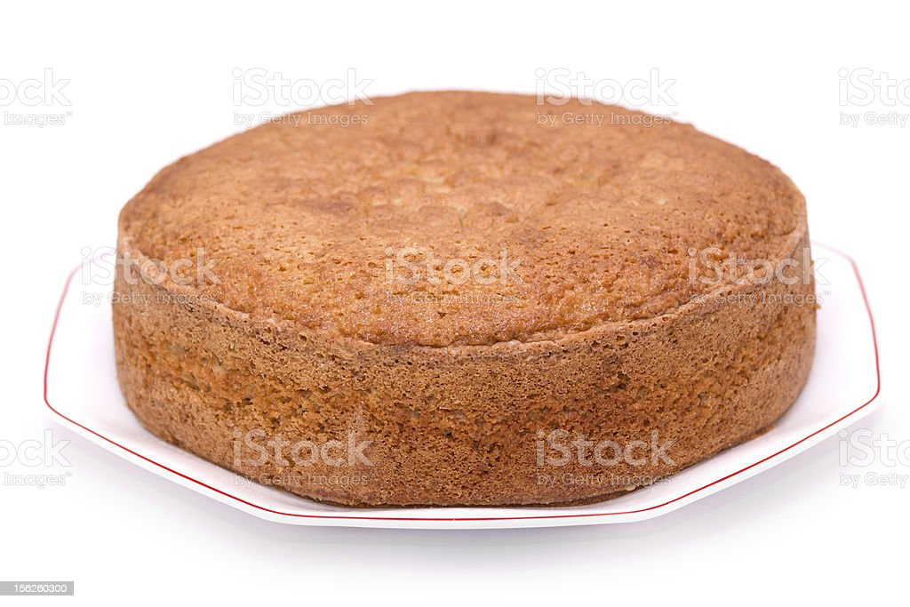 Sponge cake royalty-free stock photo