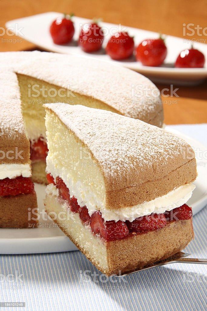 Sponge Cake stock photo