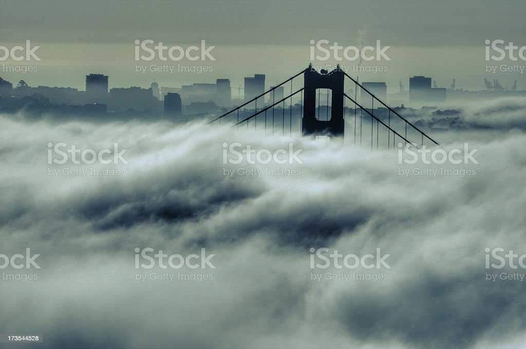 Spooky City royalty-free stock photo