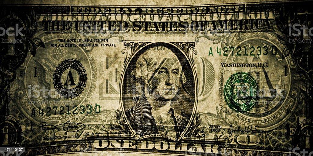 Spooky Dollar stock photo