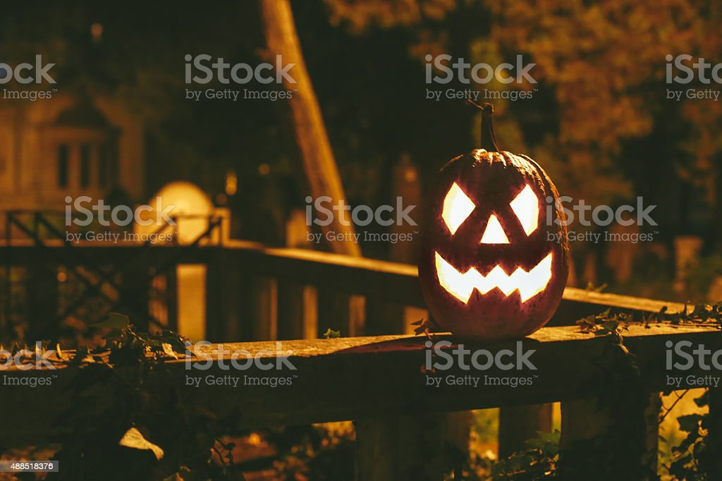 Spooky halloween stock photo