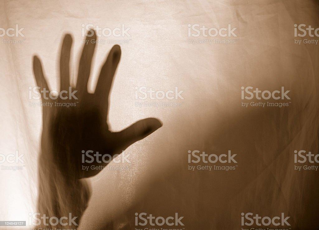 Spooky Hand stock photo