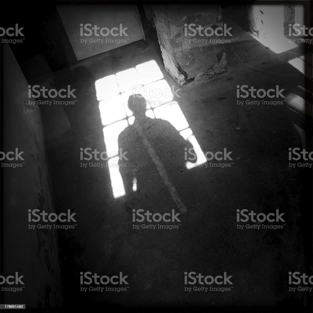Spooky Shadow royalty-free stock photo