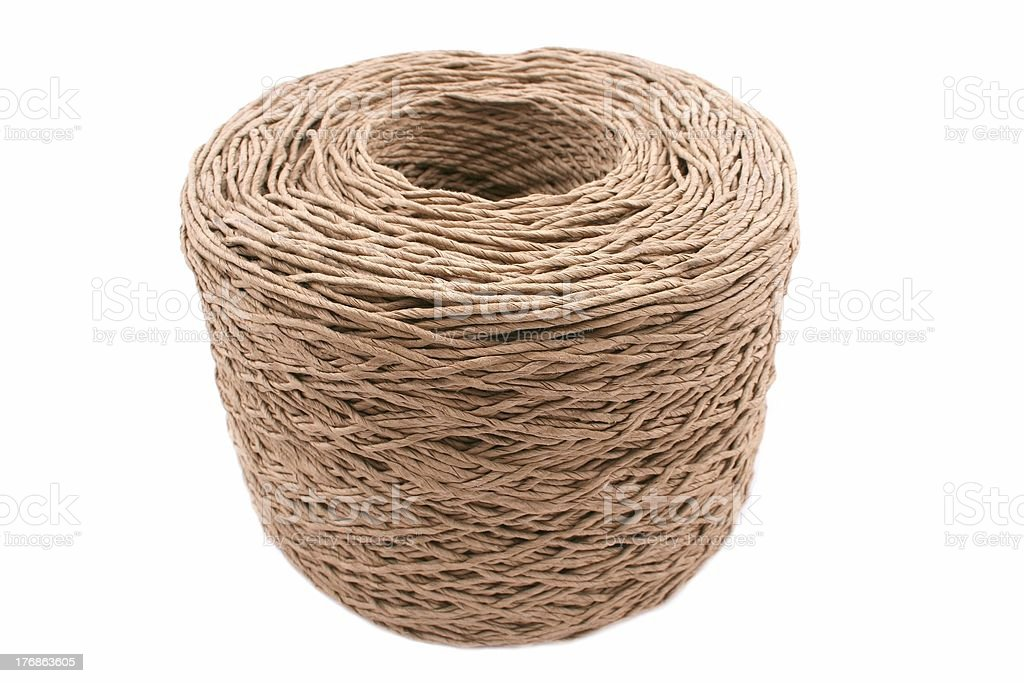 Spool of Rope royalty-free stock photo