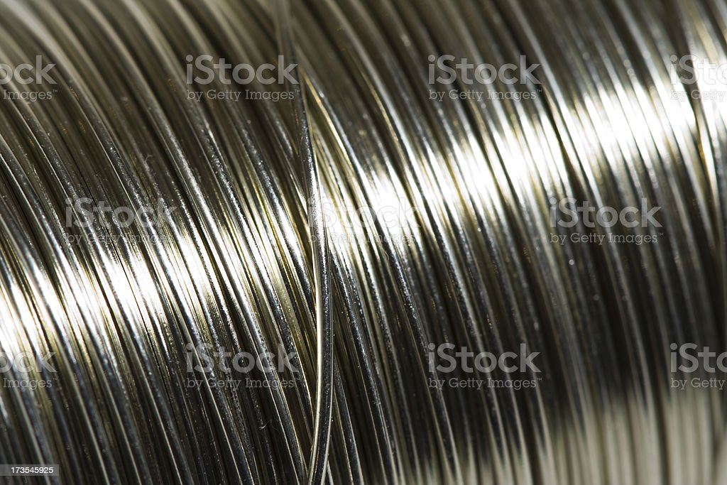 spool of wire royalty-free stock photo