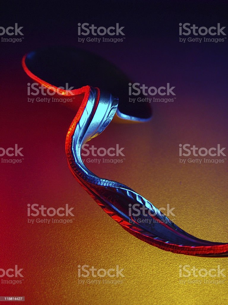 Spoon Bending royalty-free stock photo