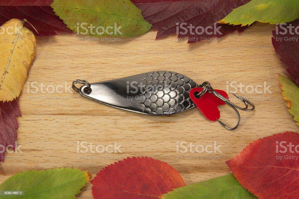 spoon-bait stock photo