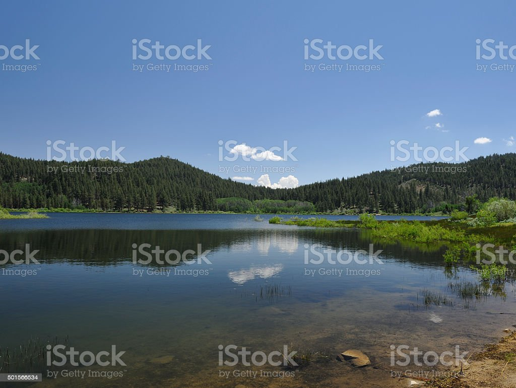 Spooner Lake, Nevada stock photo