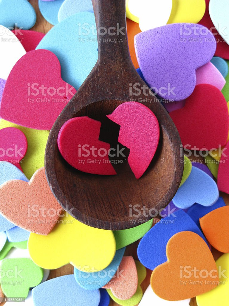 spoonful of love royalty-free stock photo