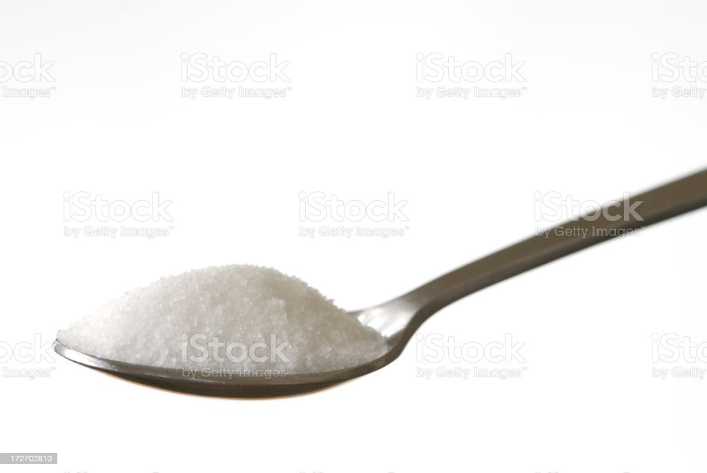 Spoonful of Sugar? royalty-free stock photo