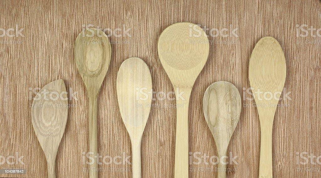 spoons royalty-free stock photo