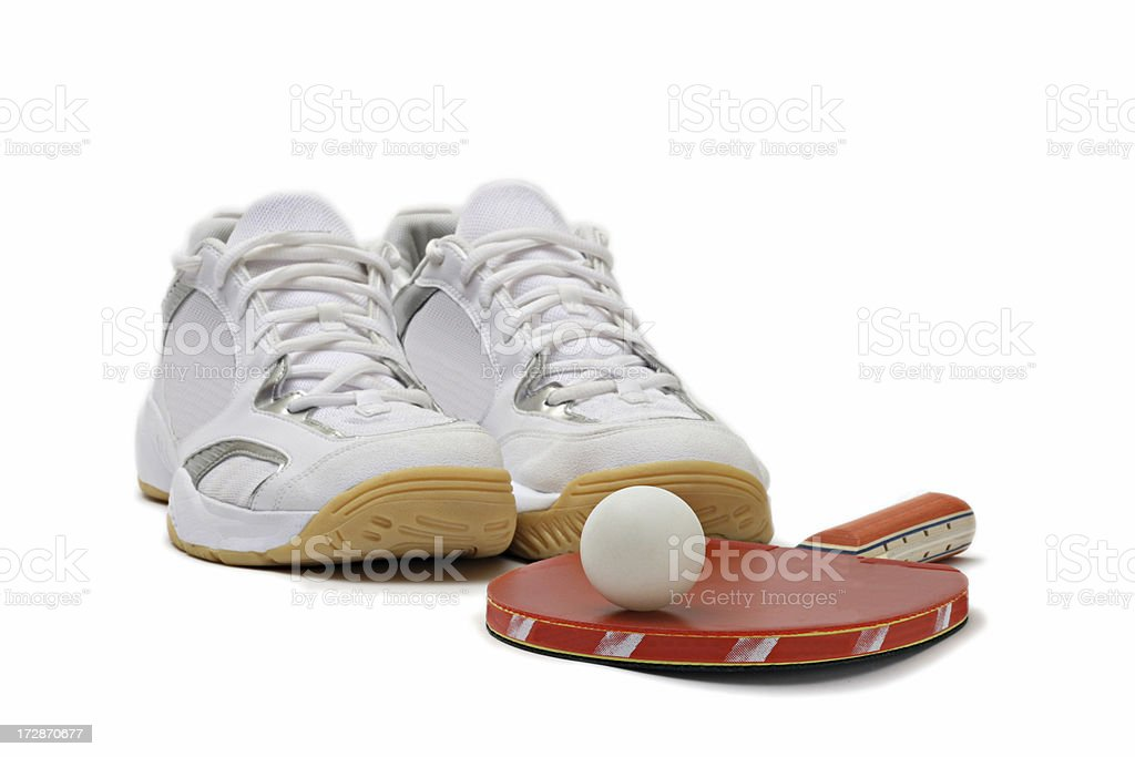 sport accessories for tennis royalty-free stock photo