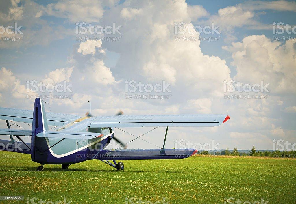 Sport airplane royalty-free stock photo