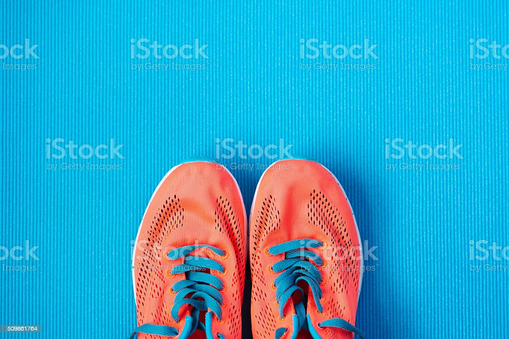Sport and fitness lifestyle concept background stock photo