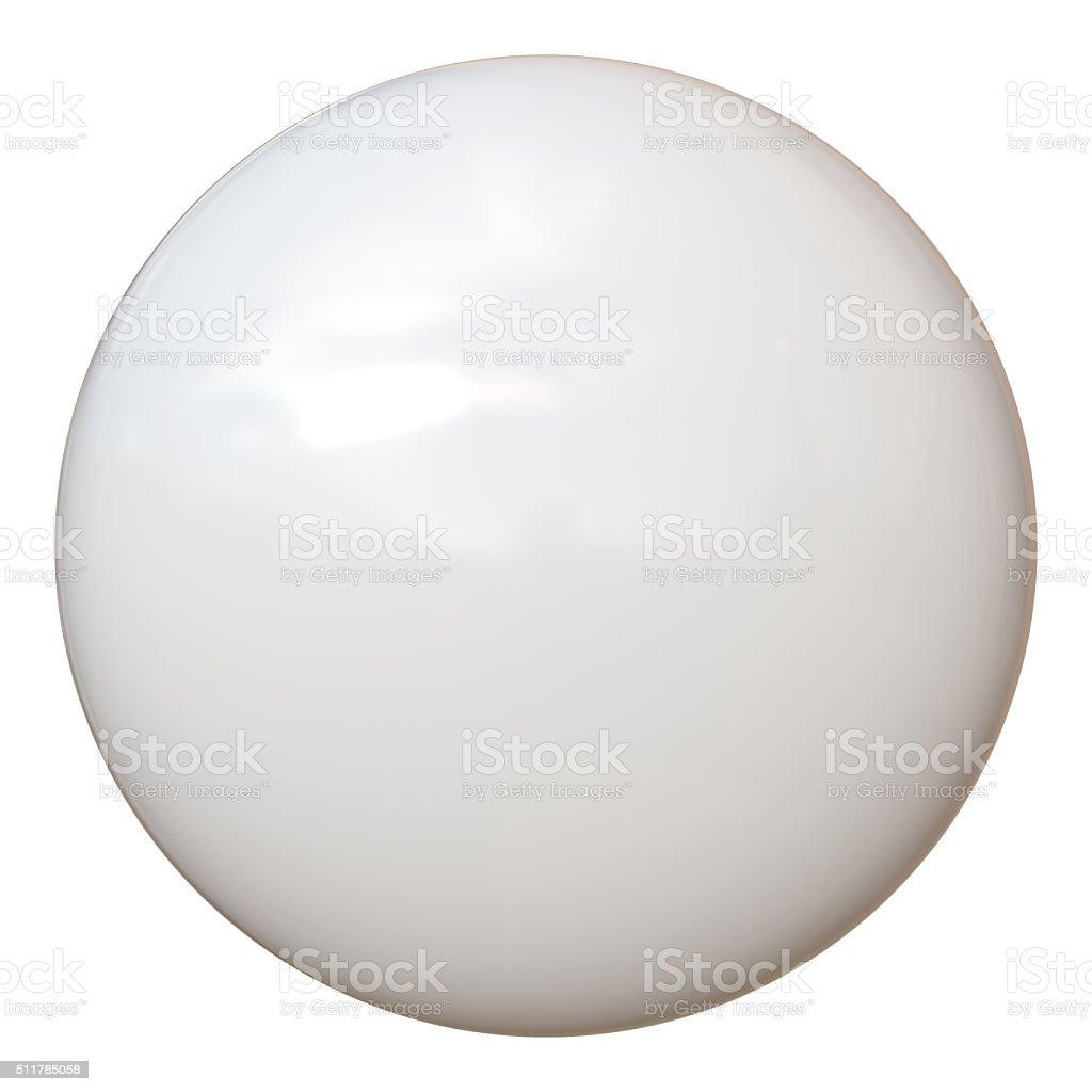 Sport Ball - Billiard Pool Snooker - White - New stock photo