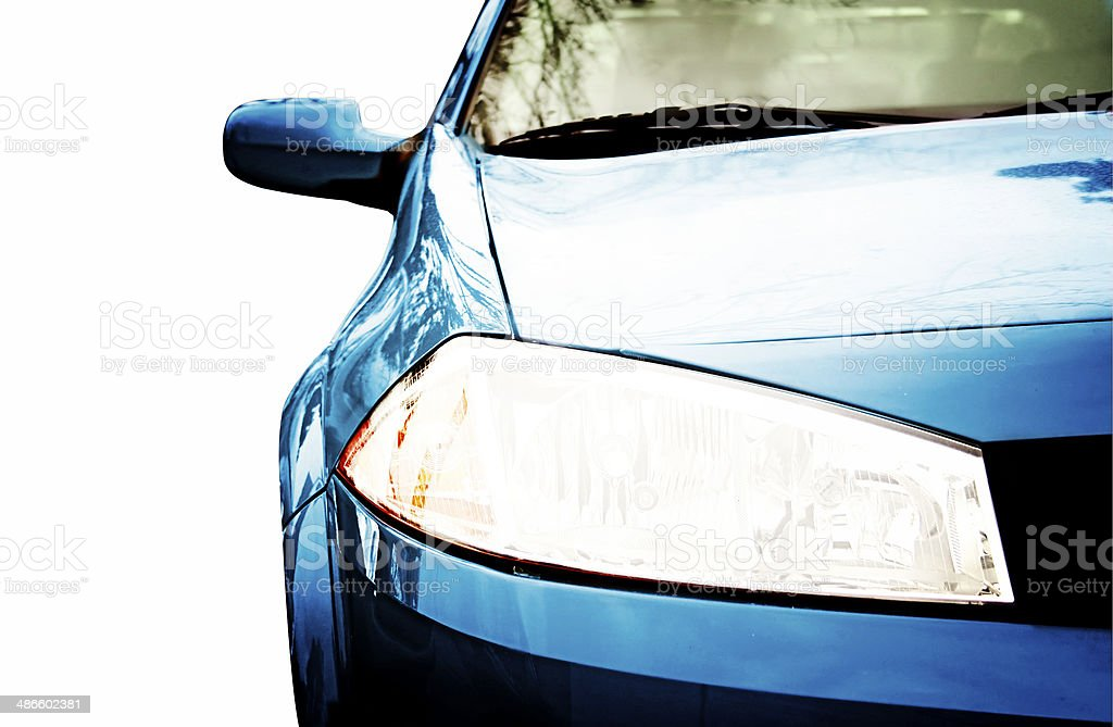 Sport Car - Front side, half stock photo
