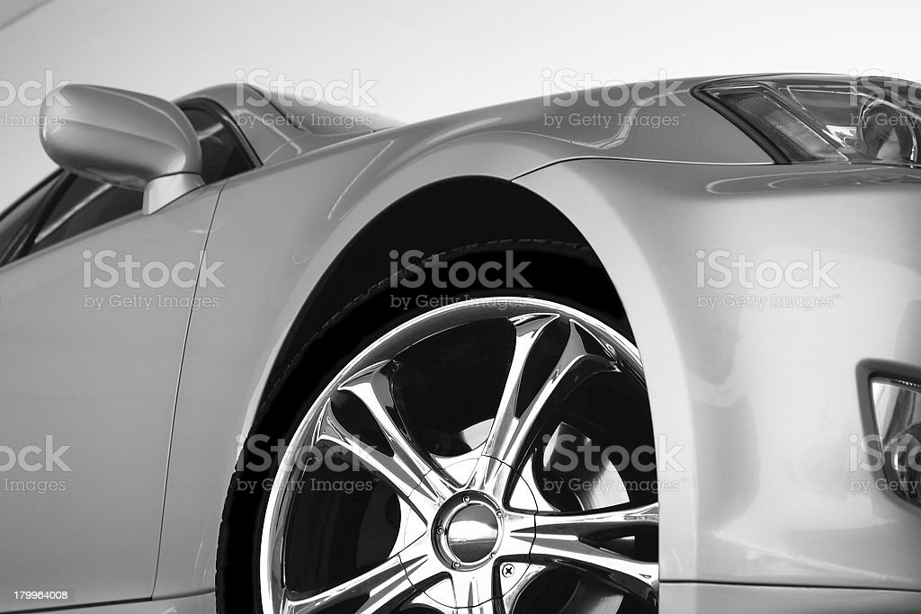 Sport car stock photo