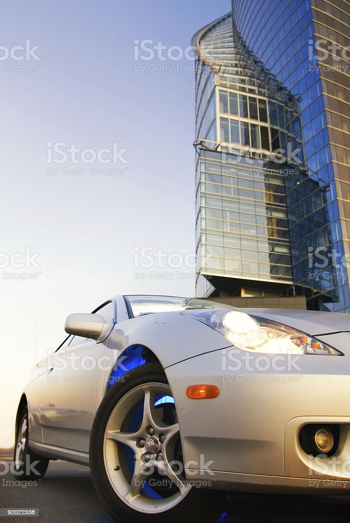 Sport car royalty-free stock photo