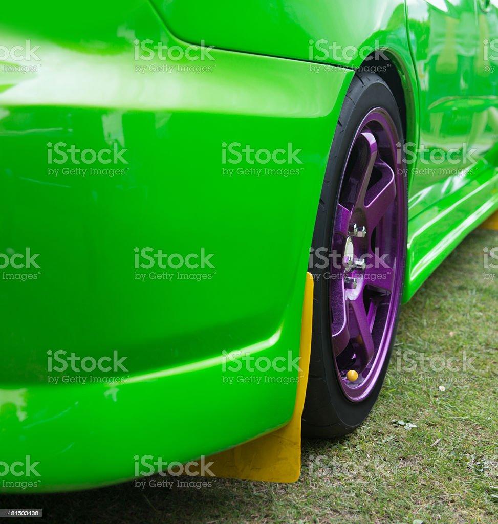sport car street stock photo