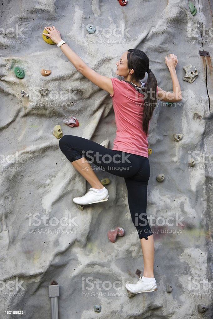 Sport climbing royalty-free stock photo