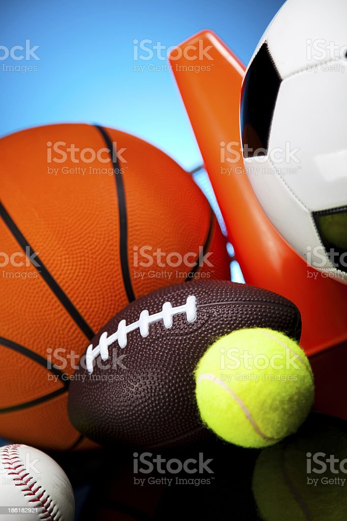 Sport closeup detail stock photo