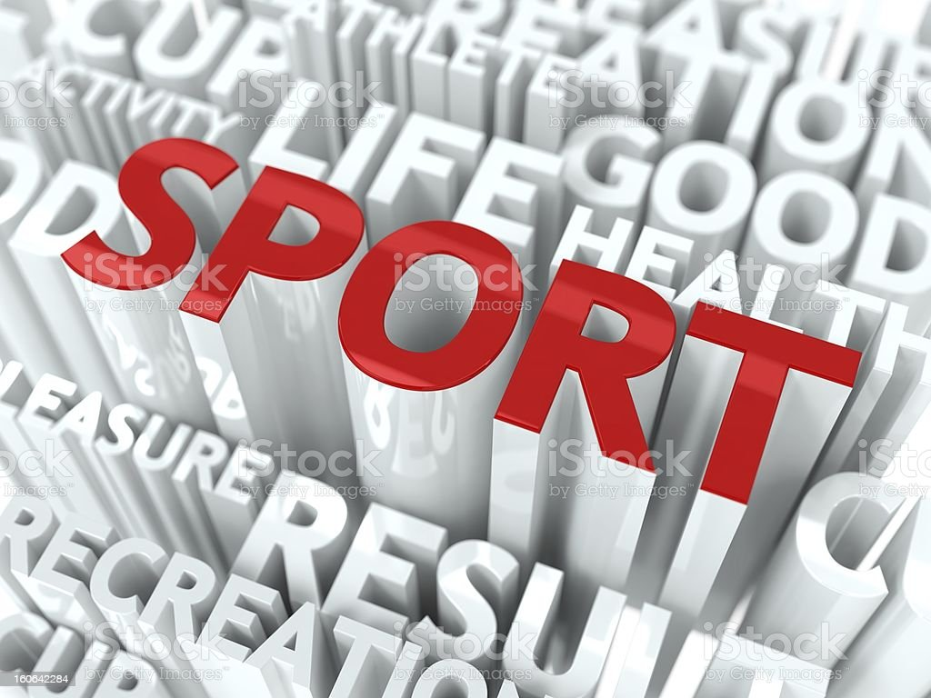 Sport Concept. royalty-free stock photo