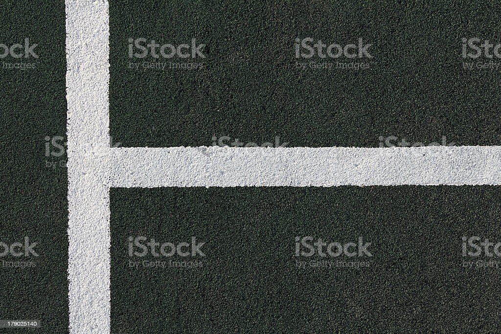 Sport Court Detail royalty-free stock photo