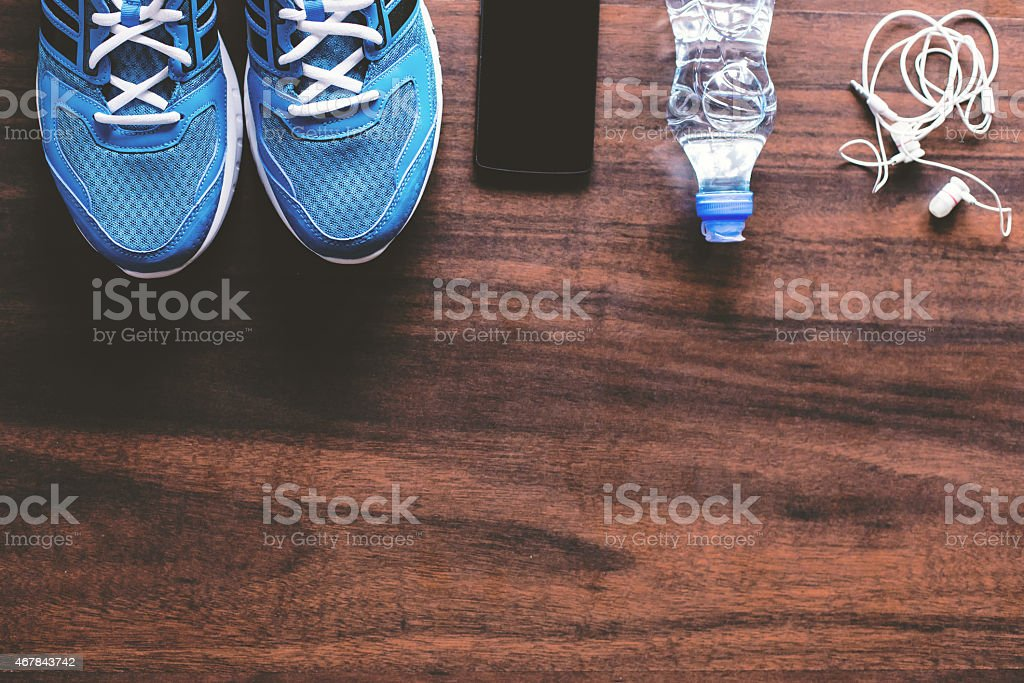 Sport equipment. stock photo