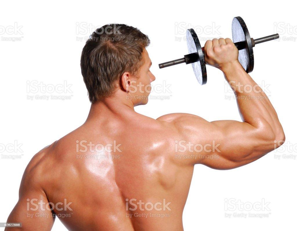 Sport exercising royalty-free stock photo