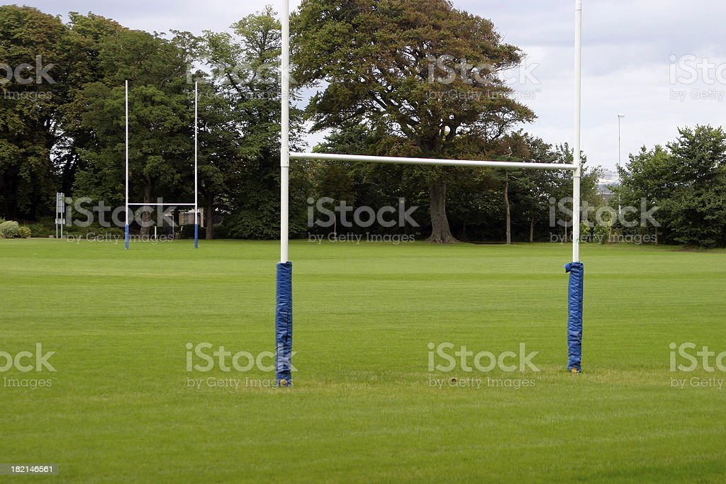 Sport field royalty-free stock photo