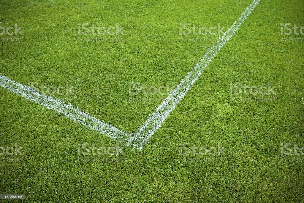Sport field stock photo