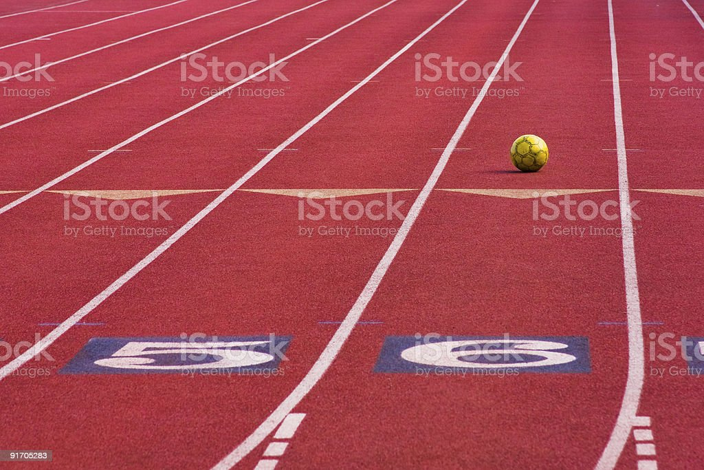 Sport Field stock photo
